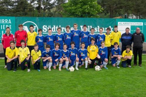 B-Jugend Regionalmeister 2012-13