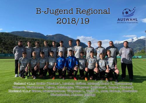 B Jugend Regional 2018/19